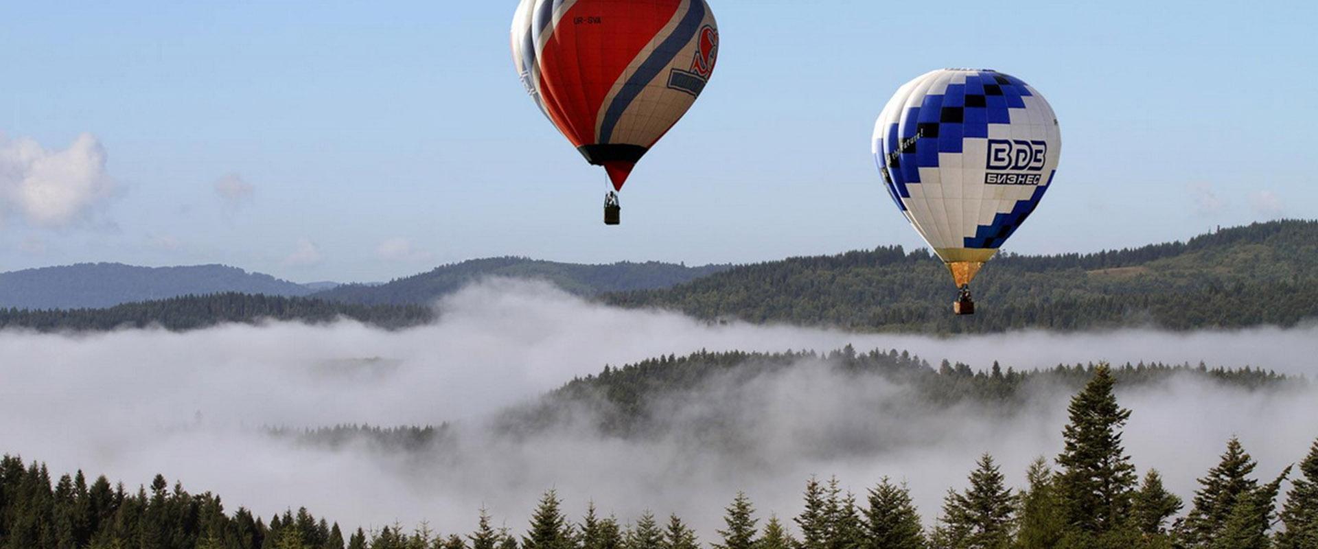 Політ на повітряній кулі спа-готель Respect