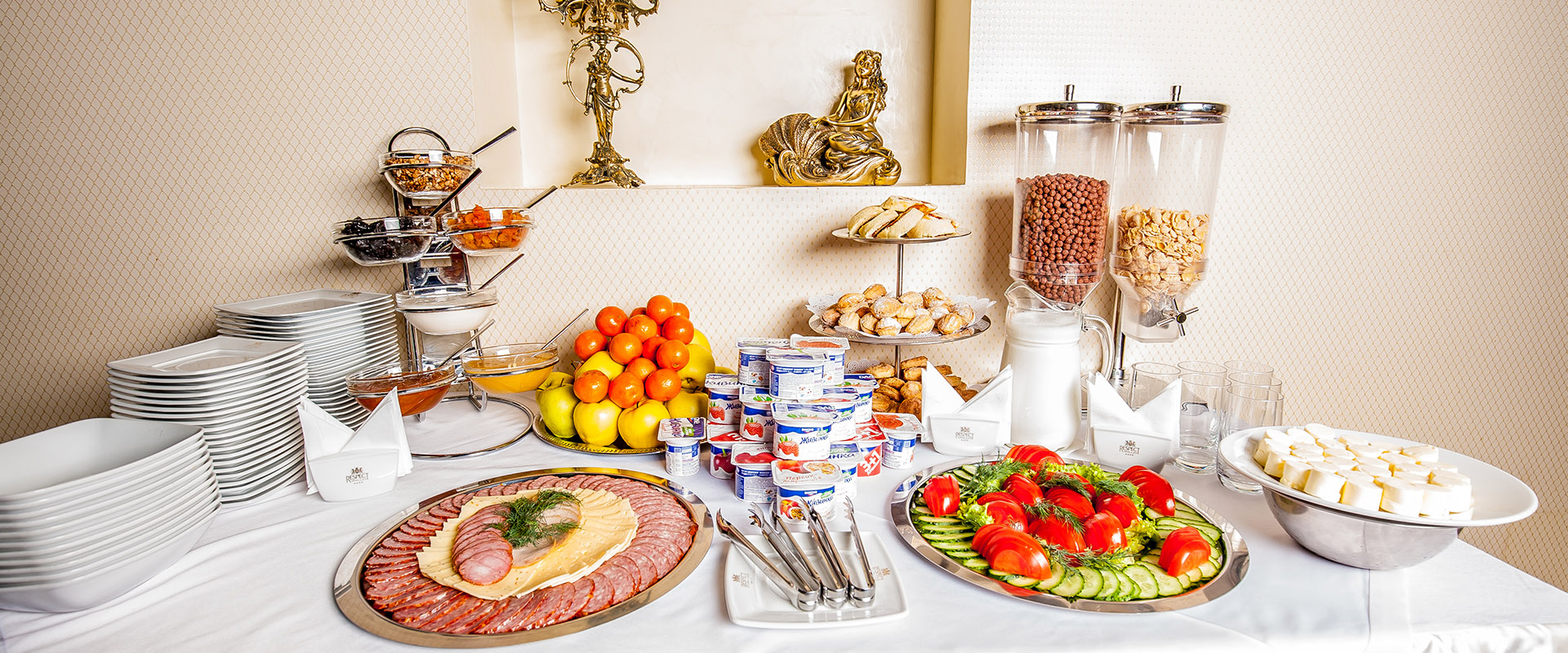 Сніданки спа-готель Respect
