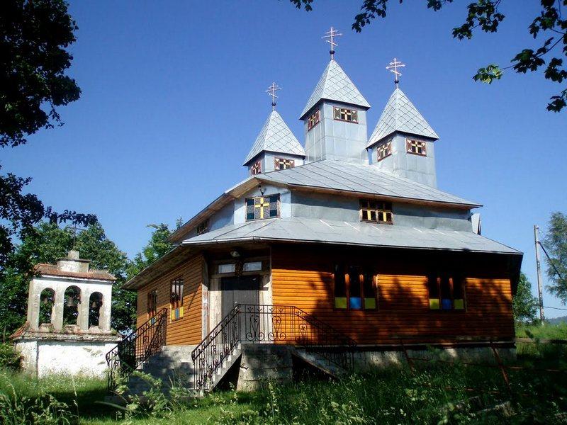 Дерев'яна церква на Замковій горі у Східниці